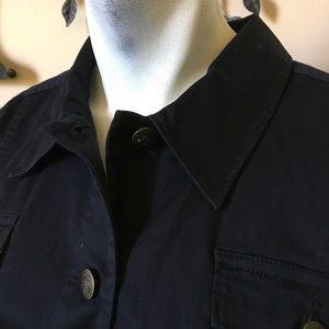 TOMMY BAHAMA Black 98% cotton, jacket, SZ XL